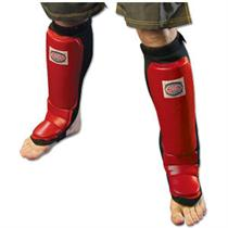 Leather Grappling Shin and Instep Guard